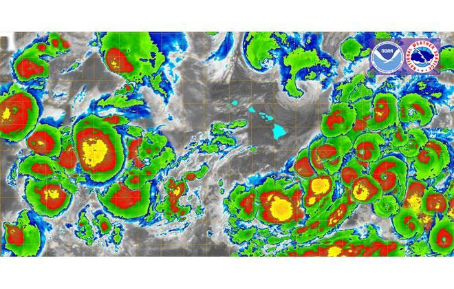 Kevin Kodama / Central Pacific Hurricane Center