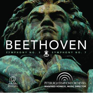$20/Month: CD: Beethoven: Symphony Nos. 5& 7. Pittsburgh Symphony Orchestra; Manfred Honeck, cond. [Item#: S16CD103]