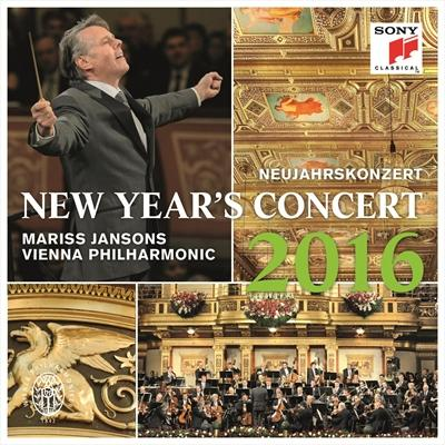 $15/month:CD: New Year's Concert 2016. (Vienna Philharmonic; Mariss Jansons, cond.) Viennese bon-bons from the Strauss family. [Item#: S16CD102]