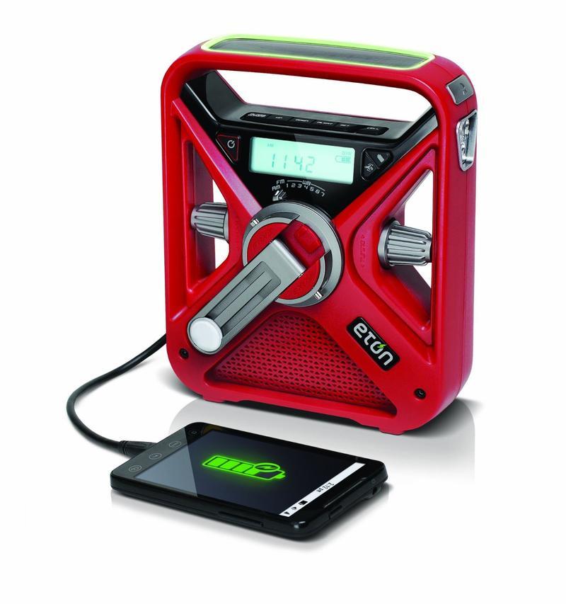 $30/Month: Eton Emergency Radio. The multi-powered, smartphone-charging, emergency radio. [Item#: S16G104]