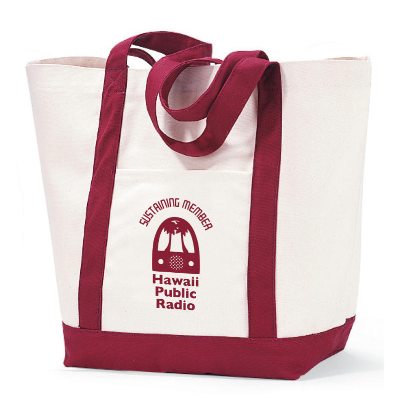 $10/month: HPR Sustaining Member Tote Bag Item #  [S16G105]