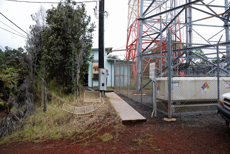HPR microwave antenna delivered to Kulani Cone