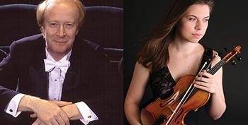 Christopher Seaman, conductor, Tessa Lark, Violin