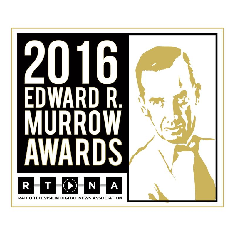 2016 Murrow Awards logo