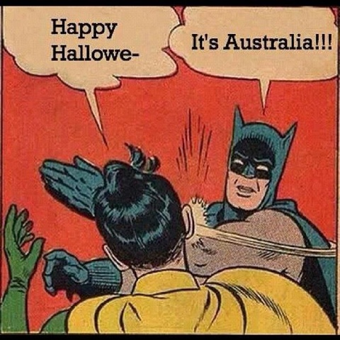 Halloween is un-Australian / Facebook