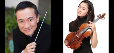 Ken Lam, conductor; Sayaka Shoji, violin