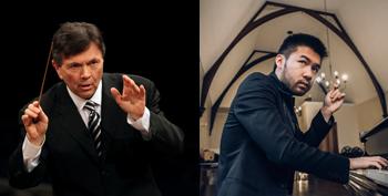 Gerard Schwarz, conductor; Conrad Tao, piano