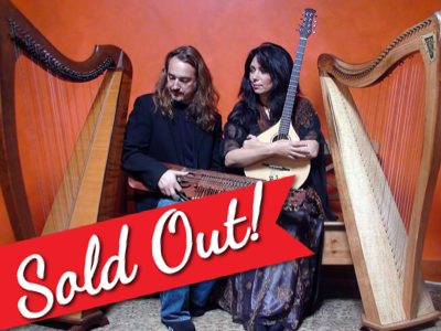 Celtic Harps, Rare Instruments and Wondrous Stories: Lisa Lynne & Aryeh Frankfurter- February 10th