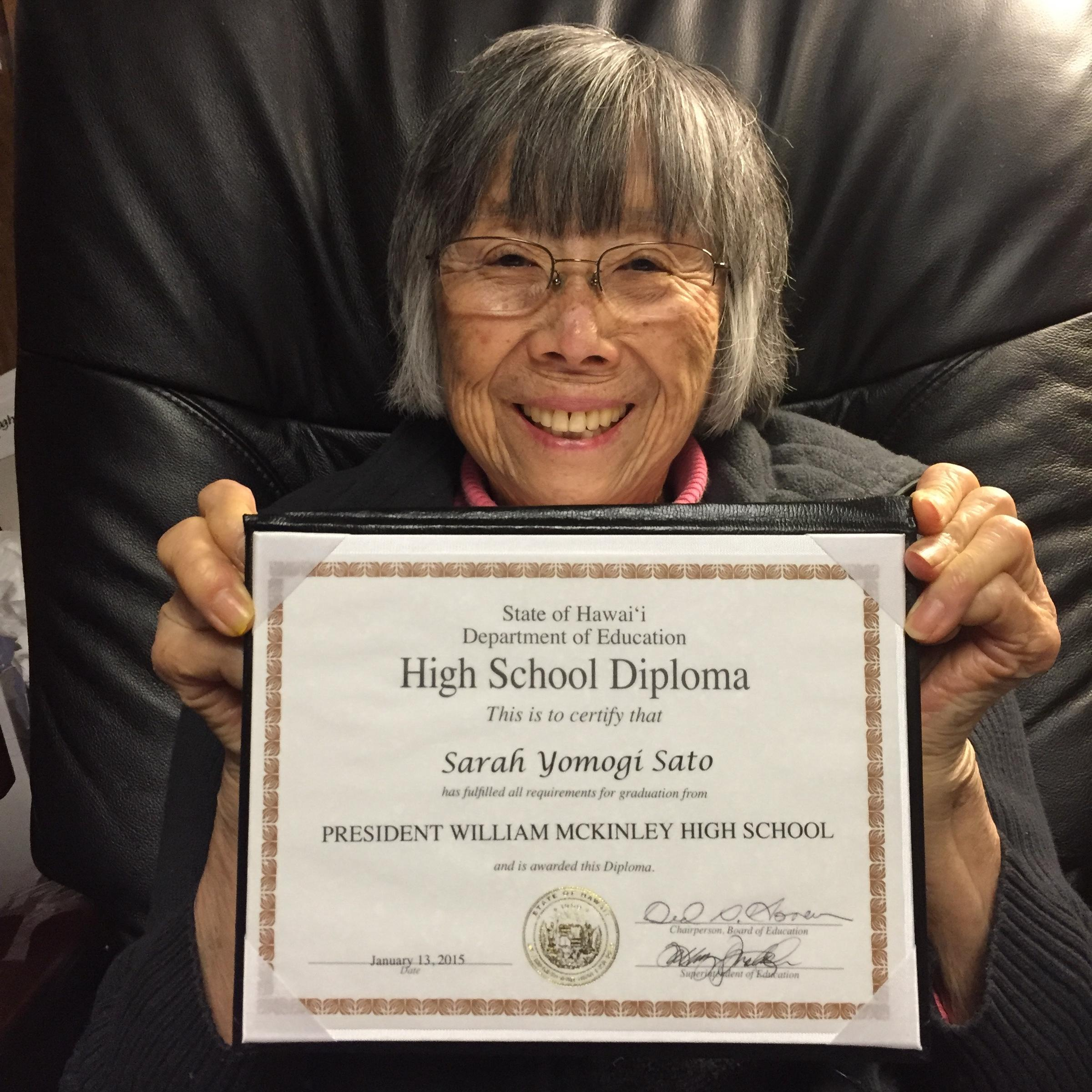 years later mckinley high student interned in wwii gets  72 years later mckinley high student interned in wwii gets diploma