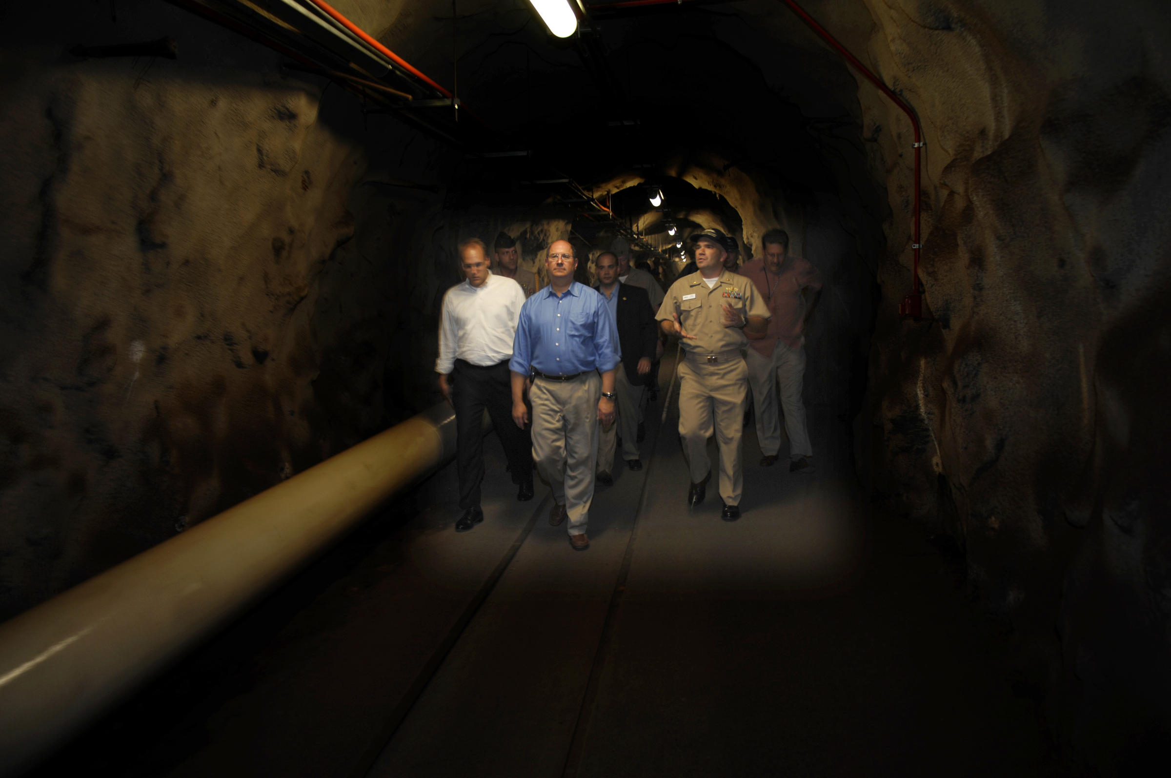 Red Hill Underground Fuel Storage Facility Tours