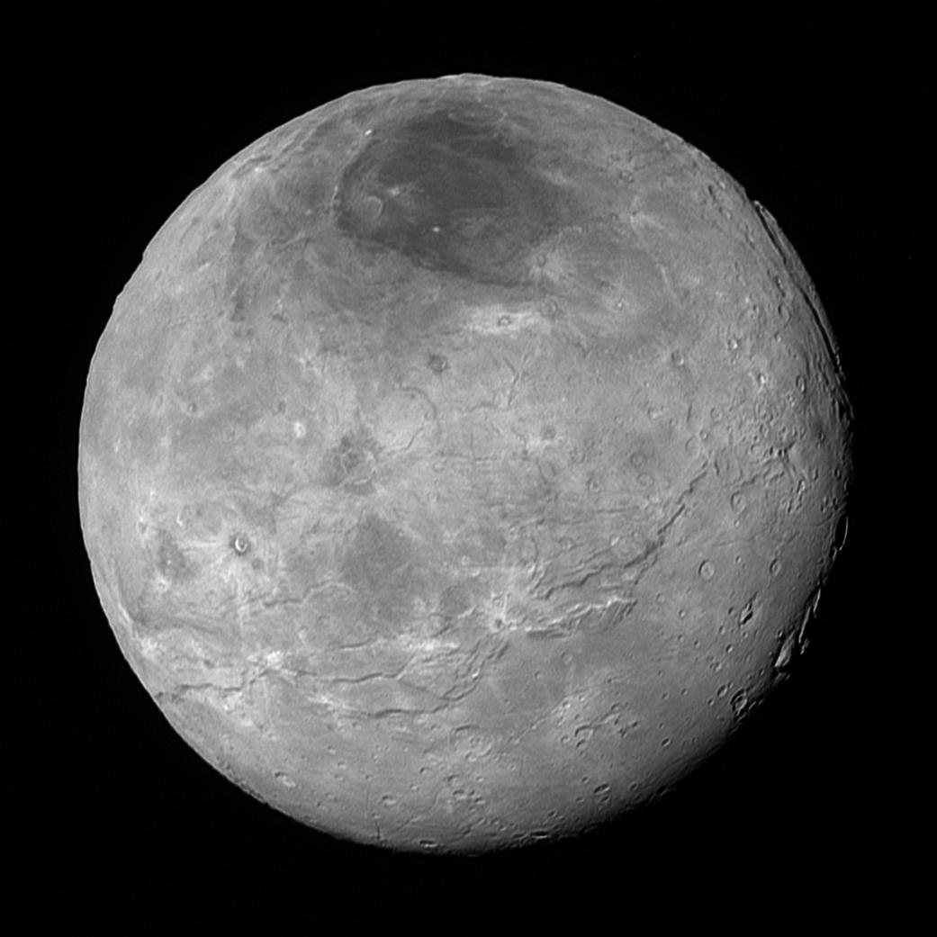 Charon Moon: 20, 2015 Stargazer: New Horizons' New