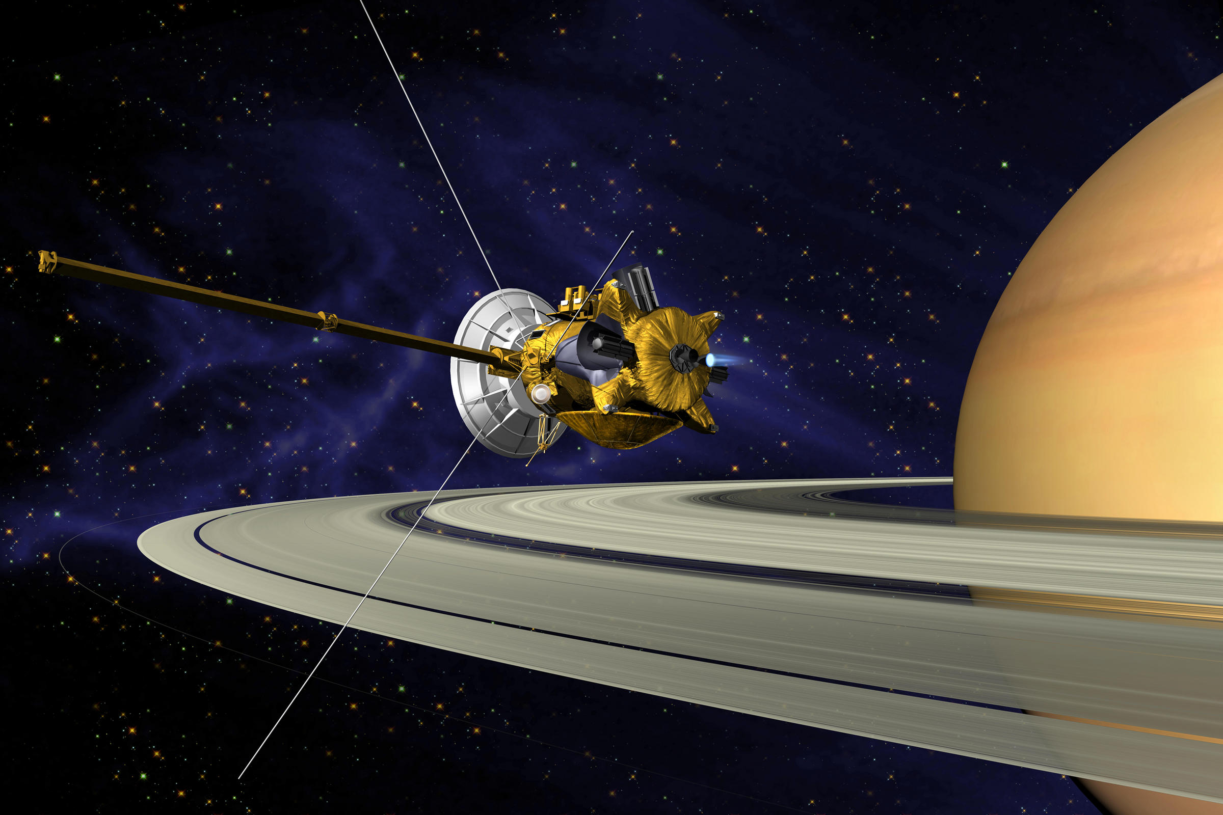 This Week at NASA: Farewell Cassini, New ISS Crew and More