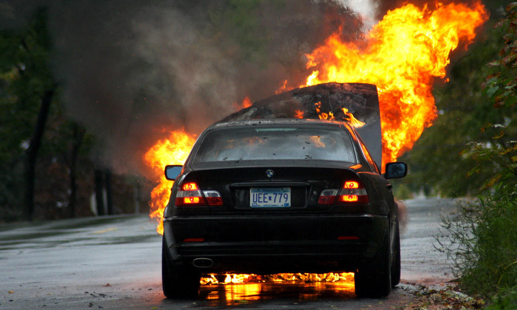 Asia Minute Bmw S Catching Fire In South Korea