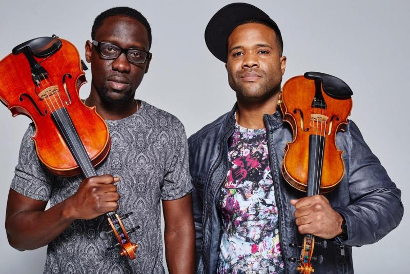 Black Violin's Wil B. (l) and Kev Marcus (r)
