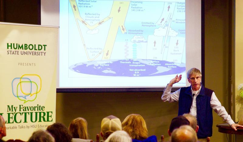 Lecturer Rich Boone