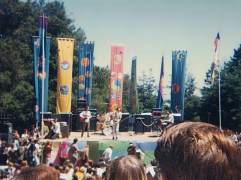 The Doors performing at the Magic Mountain Music Festival
