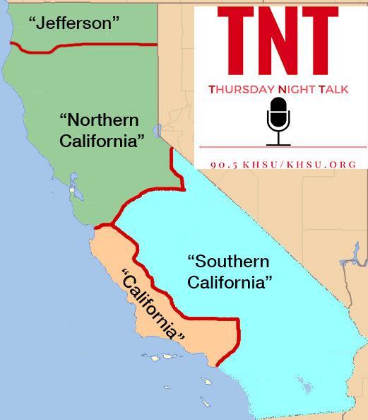 Thursday Night Talk Is California Too Big Khsu