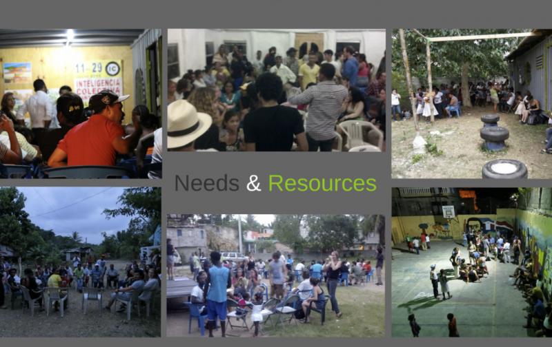 What Needs & Resources meetings look like