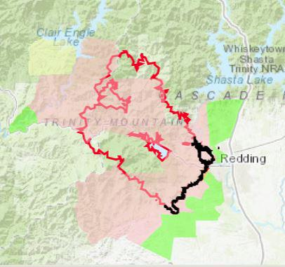 Evacuation And Repopulation Updates For Carr Fire And Mendocino