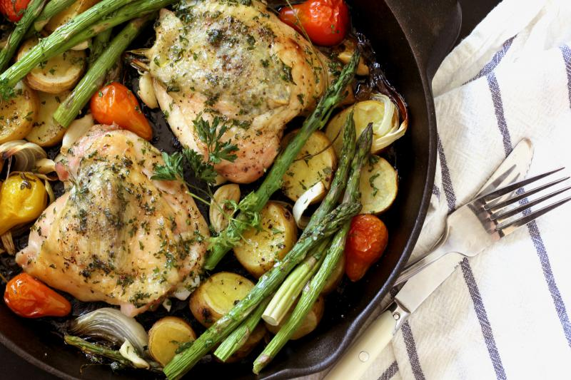 An easy way to make chicken special