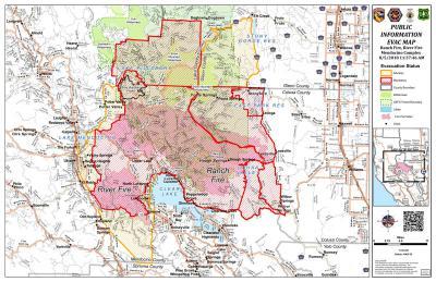 Mendocino Complex Becomes California S Largest Wildfire Khsu