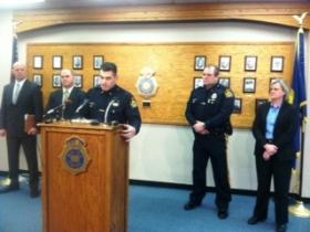 Omaha Police Chief Todd Schmaderer and investigators address an officer-involved shooting that happened Tuesday morning.