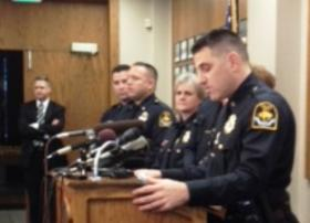 Omaha Police Chief Todd Schmaderer announced the results Friday of his investigation into officers' actions during a March 21st call at 33rd and Seward Streets.