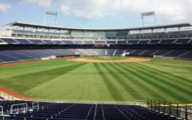 Final preparations are underway at TD Ameritrade Park Omaha for the 2013 Men's College World Series.