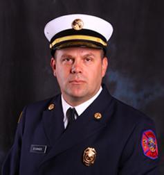 Omaha Fire Chief, Bernard Kanger