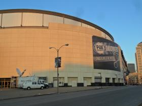 The Missouri Valley Conference Tournament is played at the Scottrade Center in St. Louis.