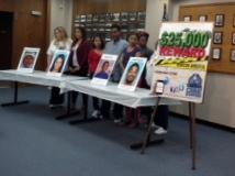 Families of Omaha murder victims joined Omaha Police Wednesday to announce the new Crime Stoppers rewards.