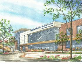 The new medical complex is scheduled to open in 2016.