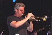 Tim Hagans at the Iowa City Jazz Festival, 2006