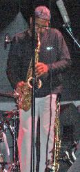 Kenny Garrett at the 2005 Iowa City Jazz Festival.