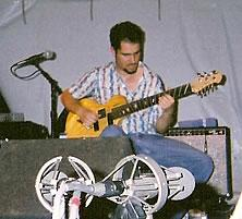 Charlie Hunter in Iowa City, 2003.