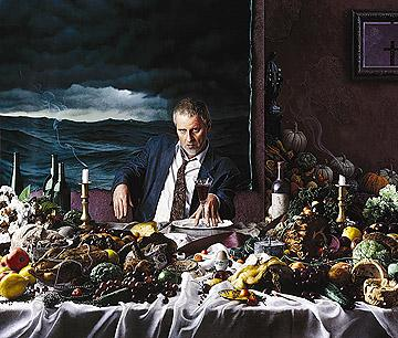 Kent Bellows: Gluttony, Self-Portrait