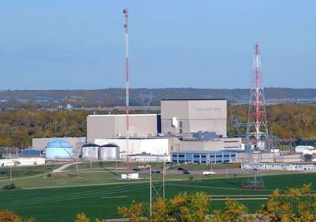 The Cooper Nuclear Station at Brownville, NE.