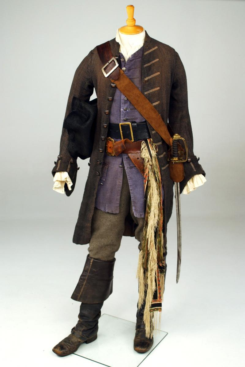 Pirates of the Caribbean: The Curse of the Black Pearl (2003), 18th Century Costume by Penny Rose
