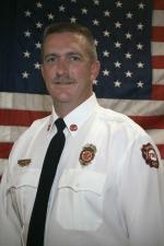former Ralston Fire Chief Kyle Ienn.