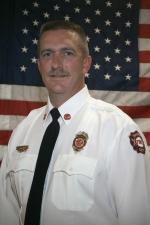 former Ralston Fire Chief Kyle Ienn.