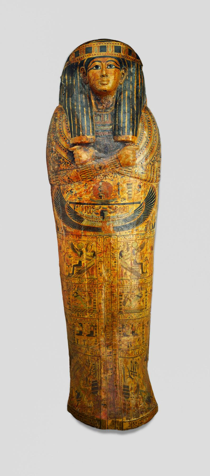 Large Outer Sarcophagus of the Royal Prince, Count of Thebes, Pa-seba-khai-en-ipet