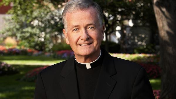 Creighton University president Fr. Timothy Lannon.