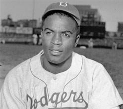 "Jack Roosevelt ""Jackie"" Robinson became the first black player in Major League Baseball in 1947, when he joined the Brooklyn Dodgers."