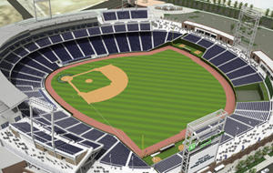 TD Ameritrade Park hosts the College World Series and the Red Sky Music Festival.