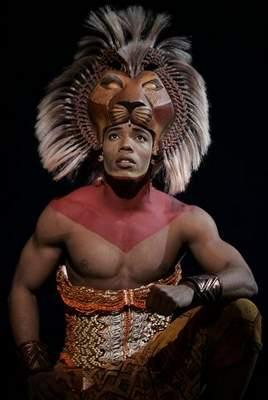 Wallace Smith as Simba, The Lion King