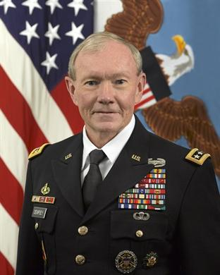 Gen. Martin Dempsey is Chairman of the Joint Chiefs of Staff.