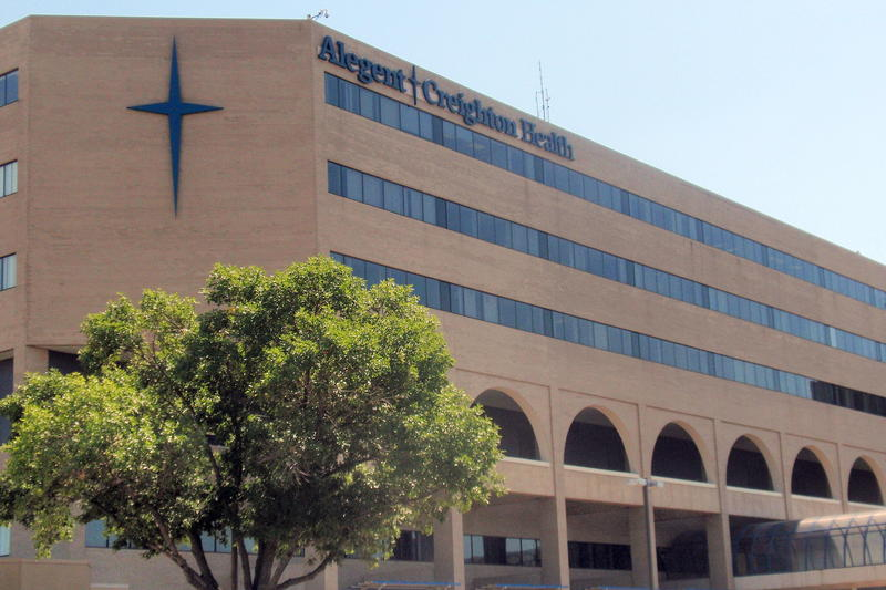 Creighton University Medical Center is now an Alegent Creighton Health hospital.