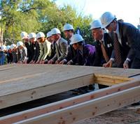 CEO Build Wall Raising 2012, Habitat for Humanity