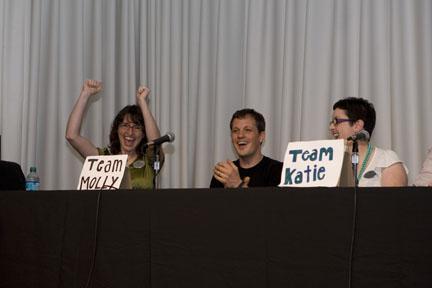 Team Molly scores!