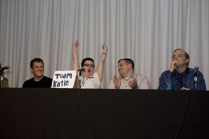 Team Katie scores!